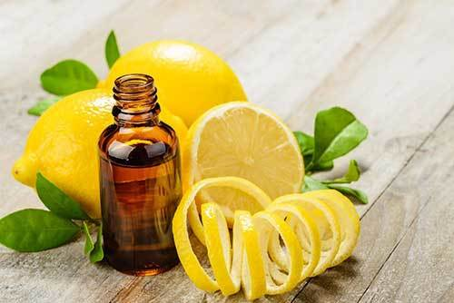 Lemon essential oil to calm down puppies
