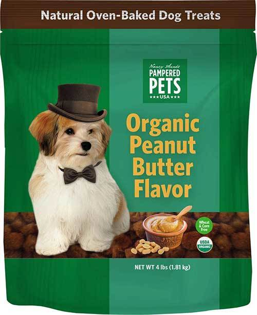 Pampered Pets Organic Peanut Butter Treats