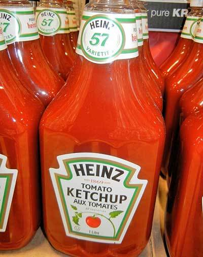 is ketchup toxic for dogs